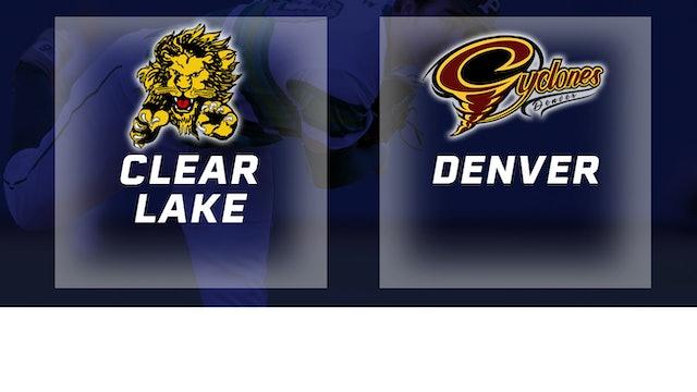 2016 Baseball 2A Quarterfinal - Clear Lake vs. Denver