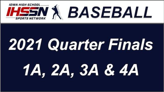 Baseball '21 QTR Finals