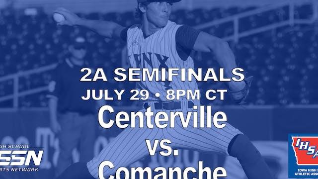 2021 2A Baseball Semi Finals: Centerv...