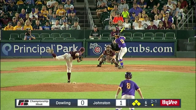 2019 Baseball Highlights - 4A Semifinal Johnston vs. Dowling Catholic