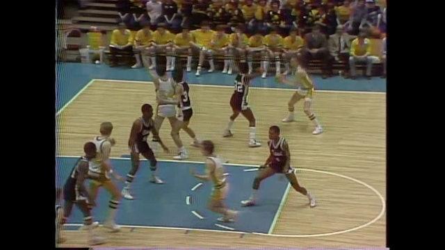 1982 Boys Basketball Class 3A Cons Waterloo East vs. Waverly - Shell Rock Part 2
