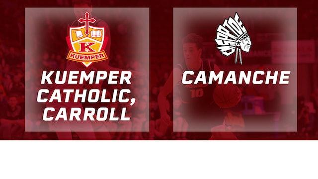 2017 Basketball 2A Consolation (Kuemper Catholic, Carroll vs. Camanche)