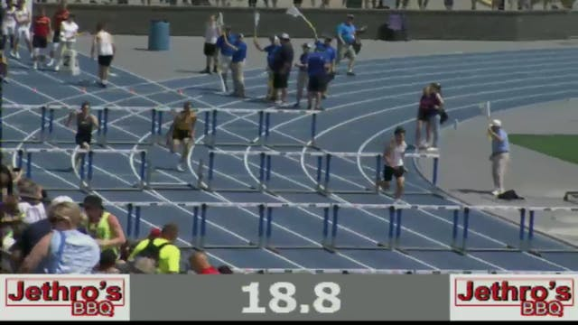 Boys Shuttle Hurdle Relay 3A Final Se...