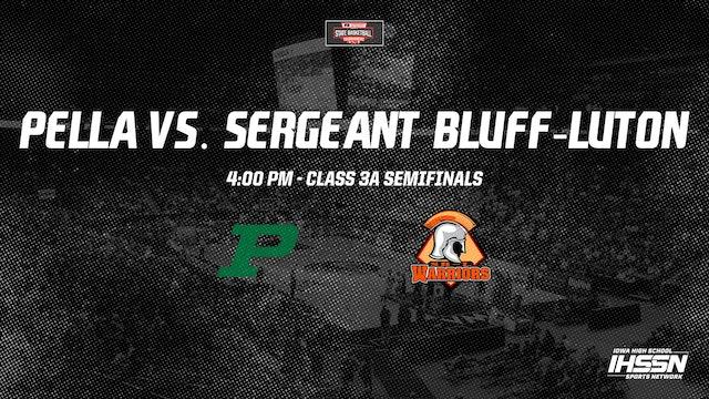 IHSAA 3A Basketball Semifinals: Pella vs. Sergeant Bluff-Luton