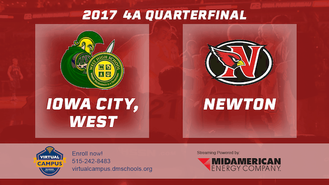 2017 Basketball 4A Quarterfinal (Iowa...