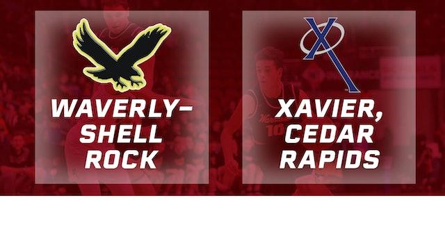 2017 Basketball 3A Semifinal (Waverly-Shell Rock vs. Xavier, Cedar Rapids )