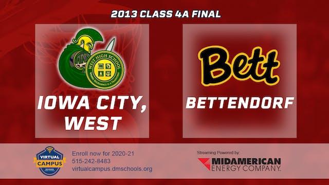 2013 Basketball 4A Championship - Iow...