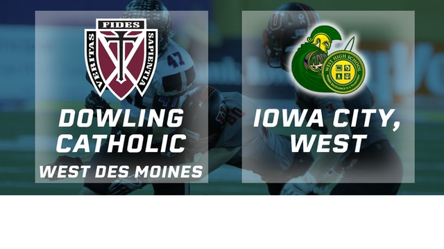 2016 Football 4A Final - Dowling Catholic, West Des Moines vs. Iowa City, West