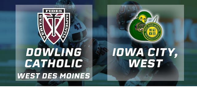 2016 Football 4A Final - Dowling Cath...