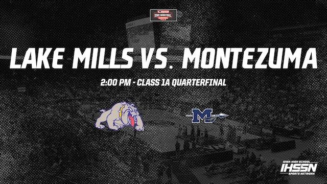 IHSAA 1A Basketball Quarter Finals: Lake Mills vs. Montezuma