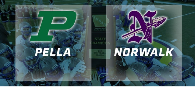 2015 Football Class 3A Championship - Pella vs. Norwalk