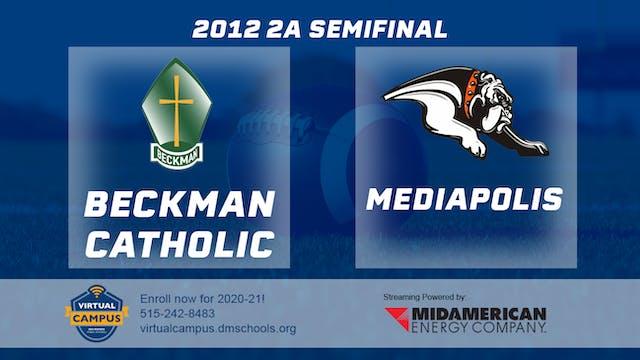 2012 Football 2A Semifinal - Mediapol...