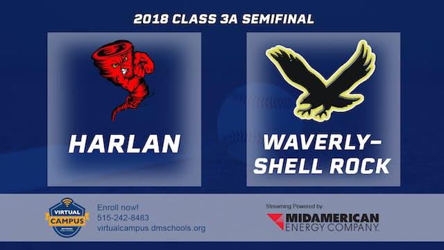 2018 Baseball 3A Semifinal - Harlan v...