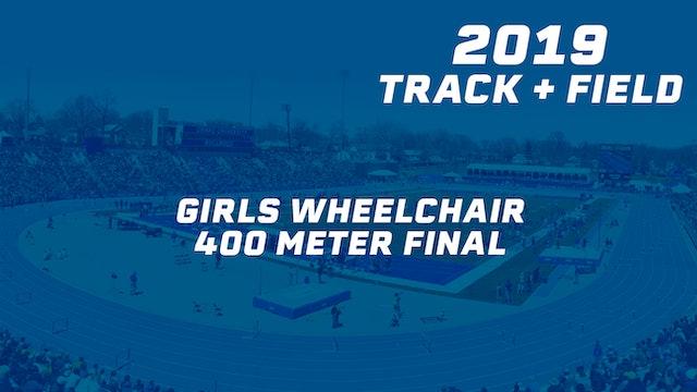 Girls Wheelchair 400 Meter Final