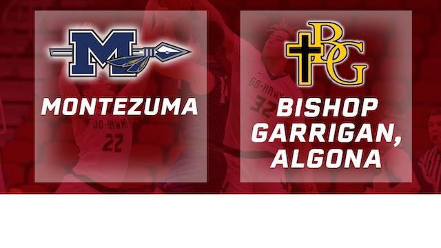 2019 Basketball 1A Quarterfinal - Montezuma vs. Bishop Garrigan, Algona