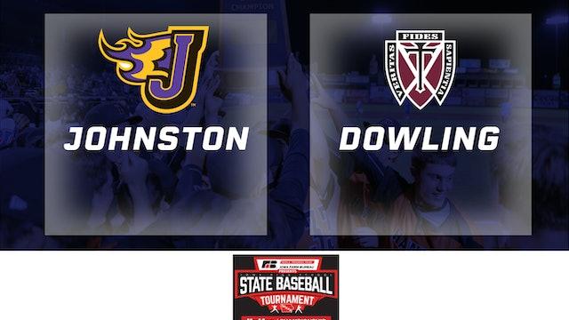2019 Baseball 4A Semifinal - Johnston vs. Dowling Catholic