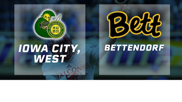 2017 Football Class 4A Semifinal - Iowa City, West vs. Bettendorf