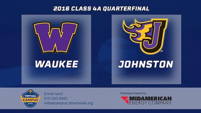 2016 Baseball 4A Quarterfinal - Wauke...