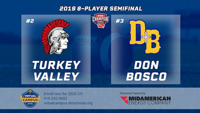 2019 Football 8-Player Semifinal - #2...