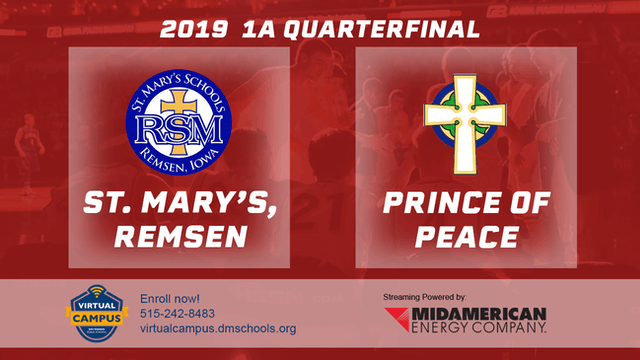 2019 Basketball 1A Quarterfinal - St....