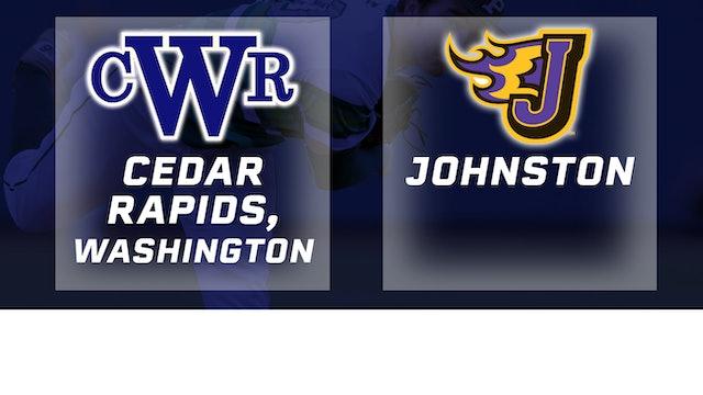 2018 Baseball 4A Quarterfinal - Cedar Rapids, Washington vs Johnston