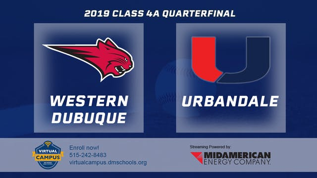 2019 Baseball 4A Quarterfinal - Weste...