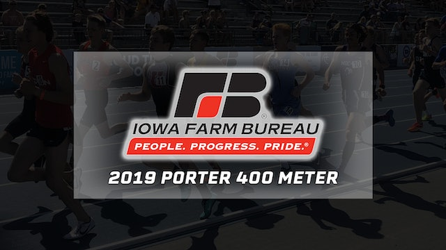 Farm Bureau Flashback - Darien Porter runs sub 47 time in 2019 400 meters