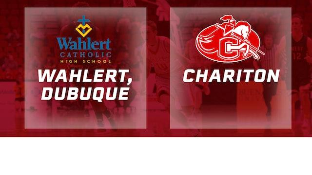 2016 Basketball 3A Semifinal Wahlert, Dubuque vs Chariton