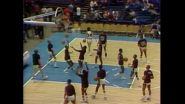 1982 Boys Basketball Class3A 1st Round Waterloo East vs. Burlington Part 2