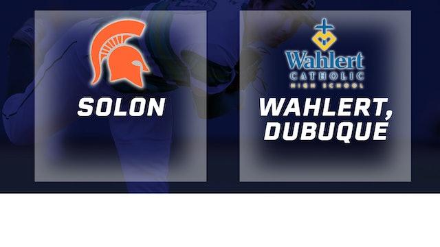 2016 Baseball 3A Quarterfinal - Solon vs Wahlert, Dubuque