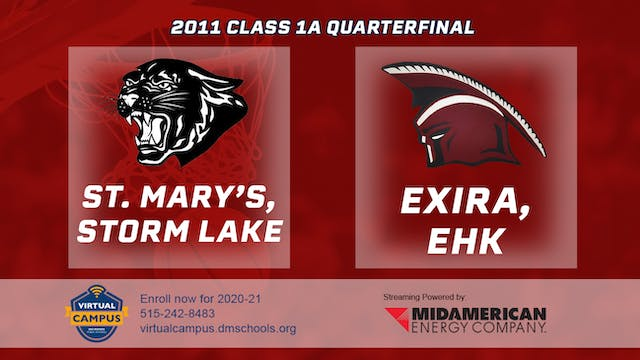 2011 Basketball 1A Quarterfinal - St....