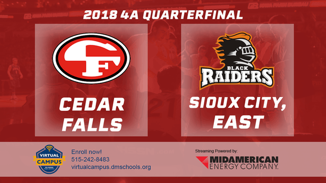 2018 Basketball 4A Quarterfinal (Cedar Falls vs. Sioux City, East)