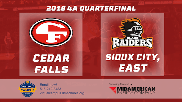 2018 Basketball 4A Quarterfinal (Ceda...