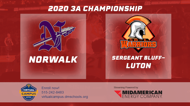2020 Basketball 3A Championship Highlights (Norwalk | Sergeant Bluff-Luton)