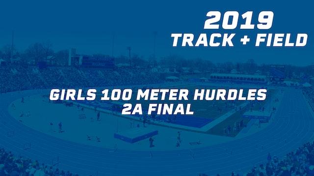 Girls 100 Meter Hurdles 2A Final