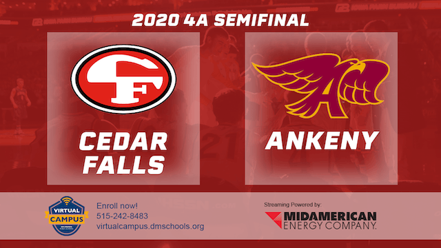 2020 Basketball 4A Semifinal Highlights (Ankeny | Cedar Falls)
