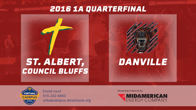 2016 Basketball 1A Quarterfinal St. Albert, Council Bluffs vs. Danville