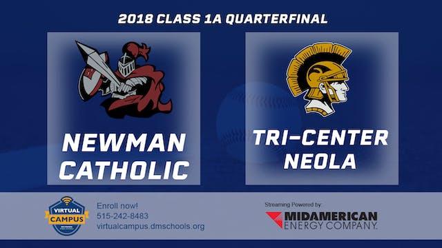 2018 Baseball 1A Quarterfinal - Newma...