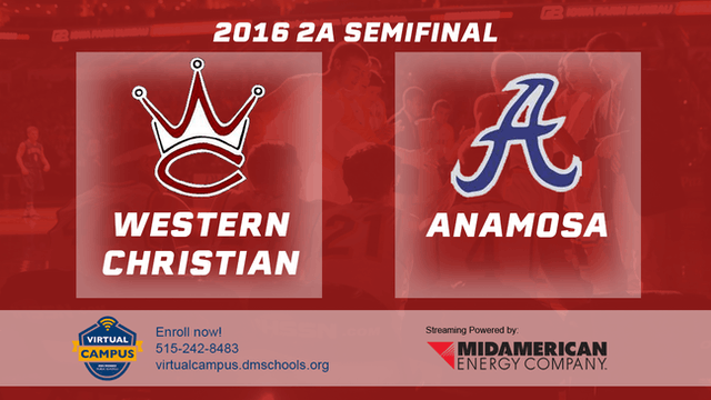 2016 Basketball 2A Semifinal Western Christian, Hull vs. Anamosa