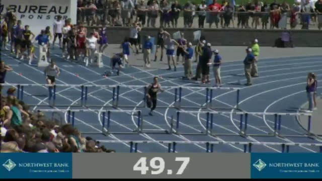 Boys Shuttle Hurdle Relay 1A Final Se...