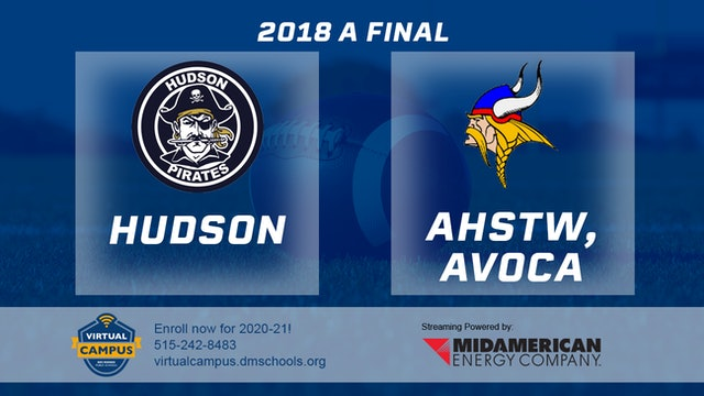 Class A Final - Hudson vs. AHSTW, Avoca