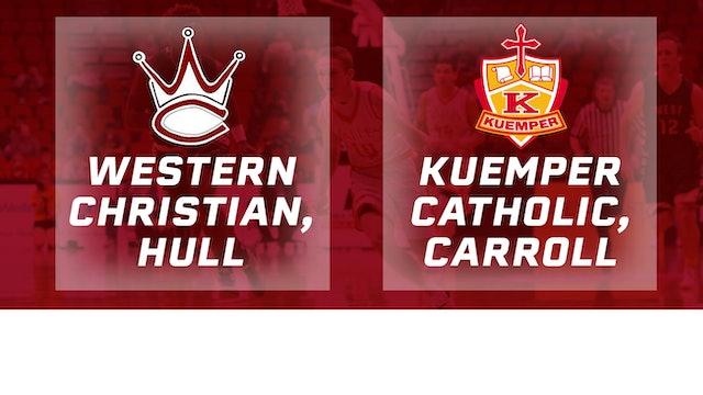 2016 Basketball 2A Quarterfinal Western Christian vs. Kuemper Catholic