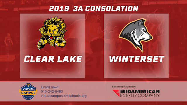 2019 Basketball 3A Consolation - Clea...