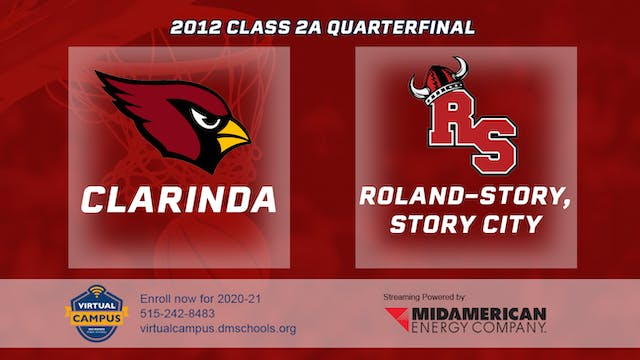 2012 Basketball 2A Quarterfinal - Cla...