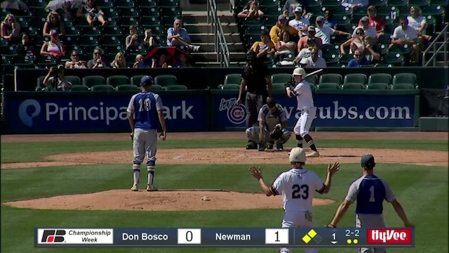 2019 Baseball Highlights - 1A SF Newman Catholic  vs. Don Bosco