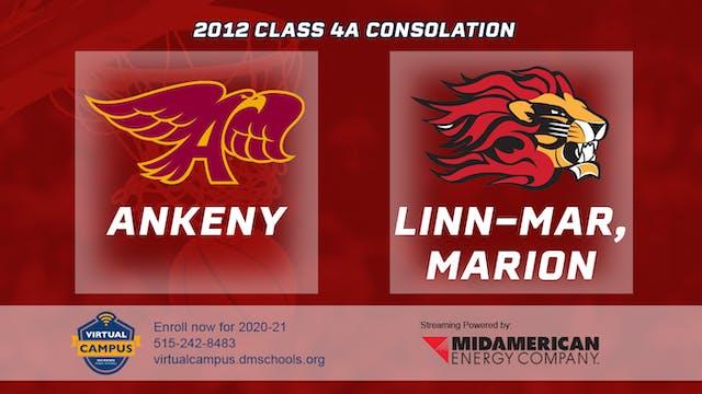2012 Basketball 4A Consolation - Anke...