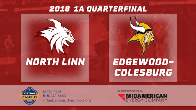 2018 Basketball Class 1A Quarterfinal (North Linn vs. Edgewood-Colesburg)