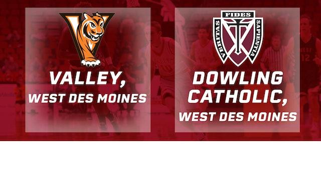 2016 Basketball 4A Quarterfinal Valley, WDM vs. Dowling Catholic, WDM