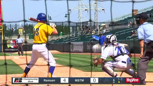 2019 Baseball Highlights - 1A QF Martensdale-St. Mary's vs. Remsen, St. Mary's