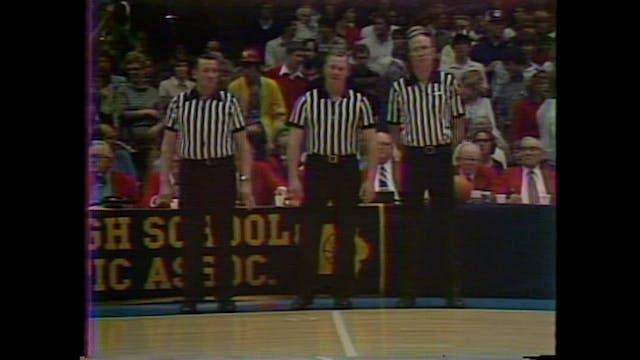 1985 3A Basketball Semi Finals: WDM D...